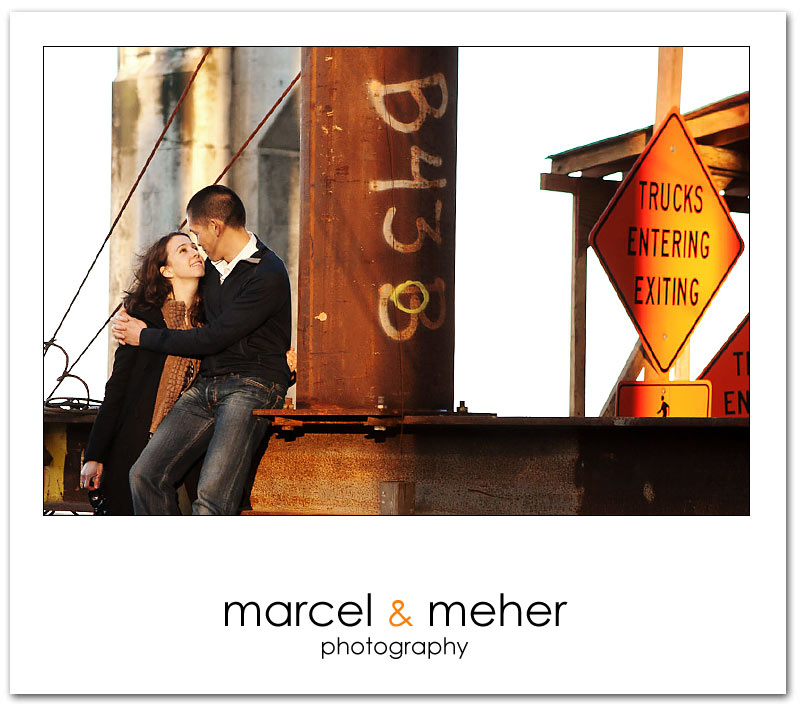 San Francisco engagement session picture