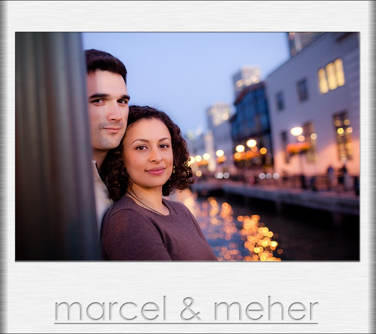 Engagement shoot at the Embarcadero San Francisco