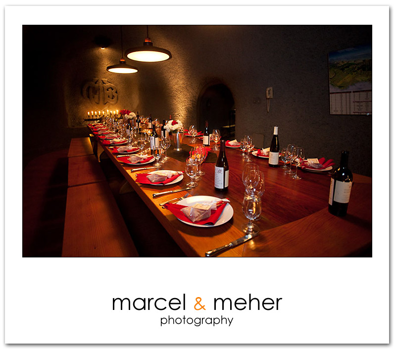 Gundlach Bundschu Winery - Wine Cave Table