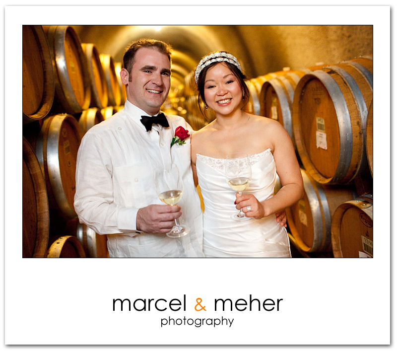 Gundlach Bundschu Winery Wedding - Wine Cave Bridal