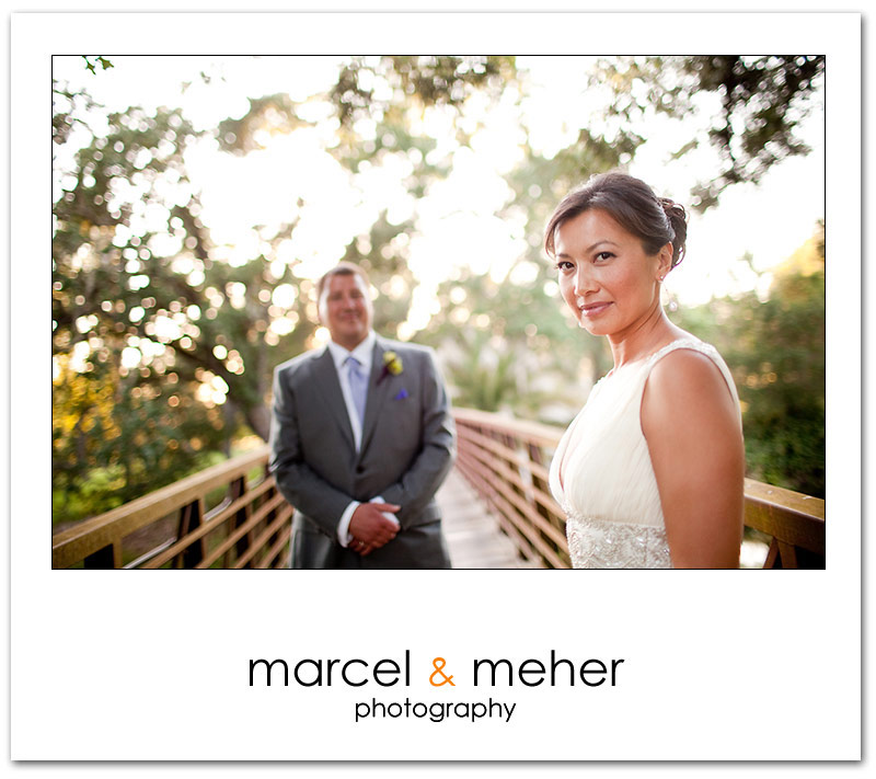 Bride and groom portrait at Silverado Resort napa valley