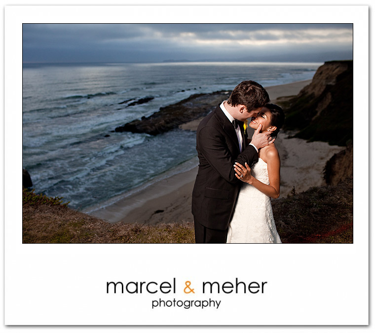 wedding at half moon bay golf links, bridal portrait