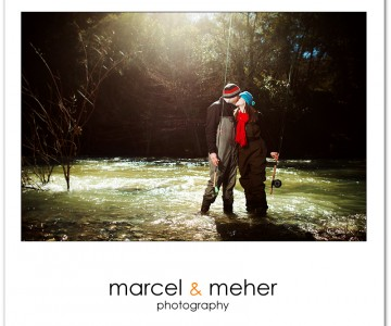 Annalisa & David's Fly Fishing Engagement Session