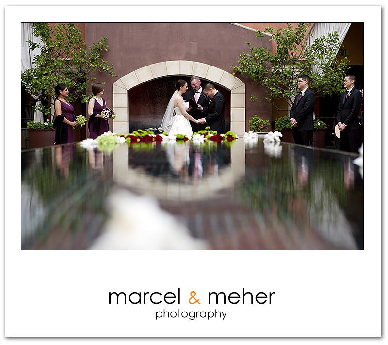 hotel Valencia wedding ceremony