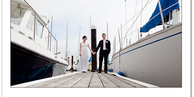 Tim and Davy Get Hitched at the Tiburon Yacht Club