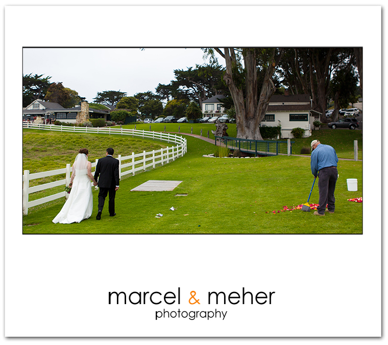 mission ranch wedding in carmel