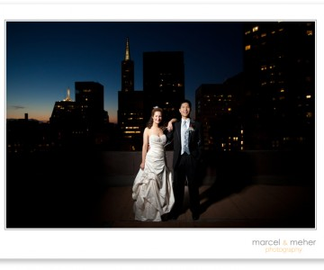 Andrew and Jenni Wed at the City Club in San Francisco