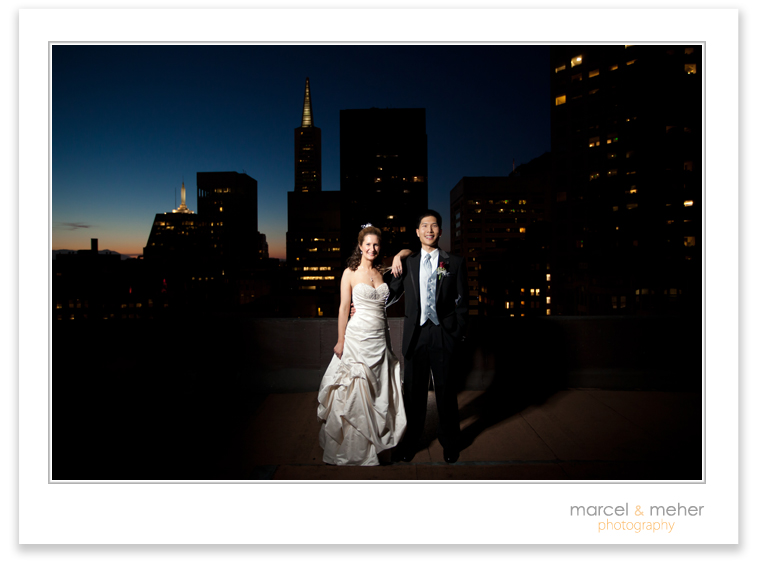 San Francisco City Club Wedding