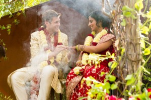 Indian Wedding ceremony at Barndiva Sonoma Wine country