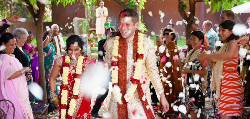 Maharani Weddings Features Shilpi and Bryan's Wedding