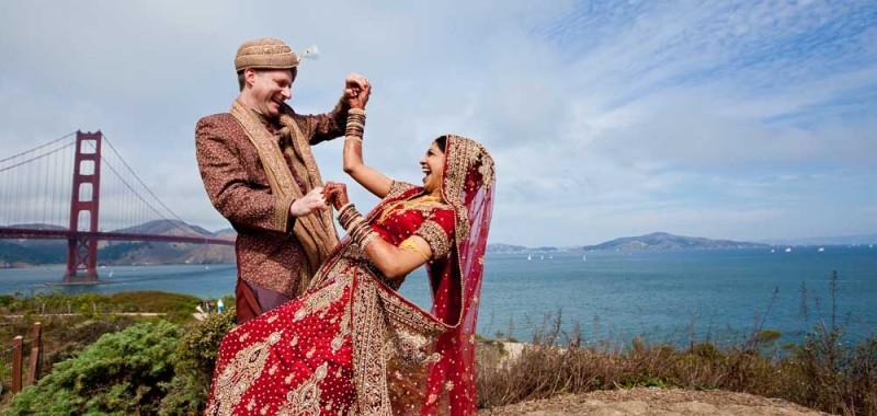 Neeru & Jason's Palace Hotel Wedding