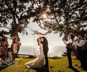 Annie and Ben's Big Sur Wedding -- Part 2
