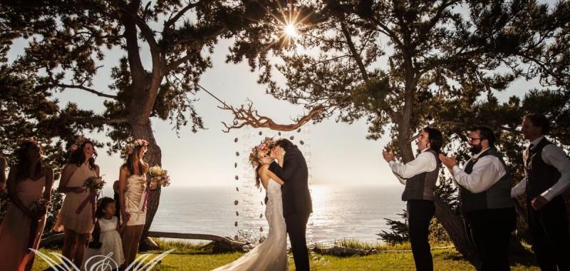 Annie and Ben's Big Sur Wedding -- Part 2