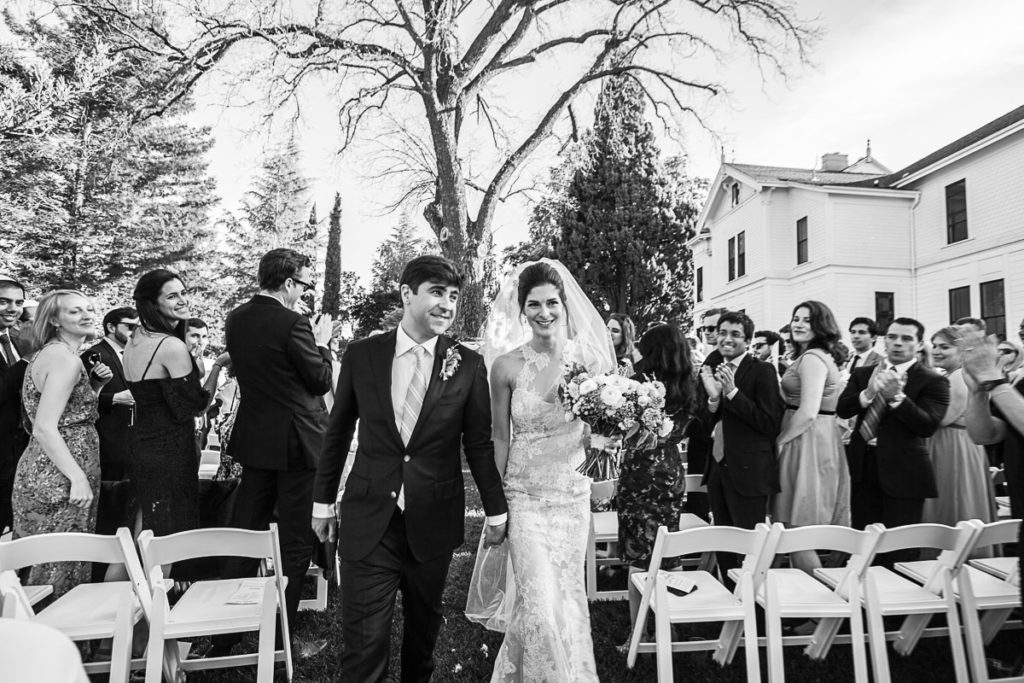 Wedding Ceremony, Park Winters,