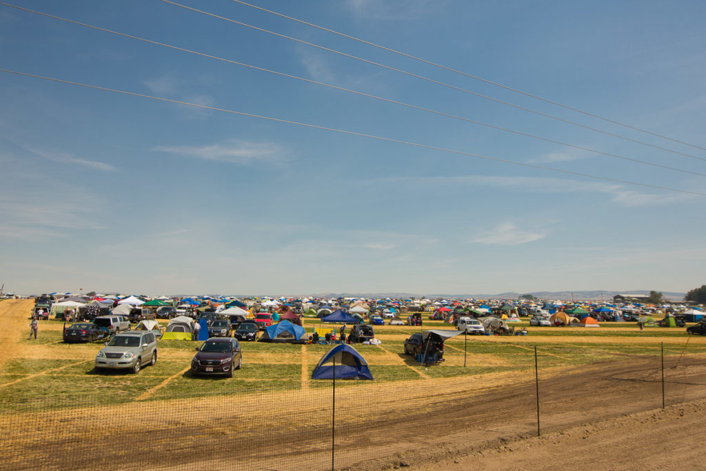 2017 solar eclipse tent city